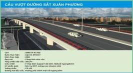 Cầu vượt đường sắt Xuân Phương