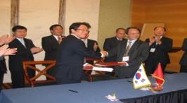 Lễ ký kết hợp tác