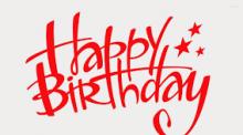 Chúc mừng sinh nhật các Đồng chí trong tháng 10/2017