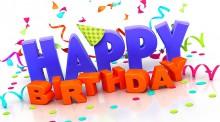 Chúc mừng sinh nhật các Đồng chí trong tháng 5/2019