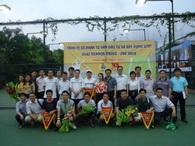 Một số hình ảnh trong giải Tennis do Công Đoàn phối hợp với Đoàn TN Công ty TRICC thực hiện