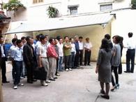 Một số hình ảnh trong buổi gặp gỡ giữa Tổng Giám Đốc và Cán bộ CNV Xí nghiệp KSCT trước khi lên đường đi công tác tại Nước bạn Lào.